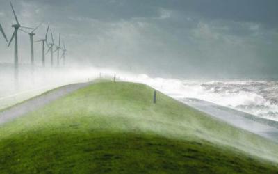 Storm Frederika 18 januari